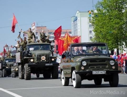 В Саранске 5 и 8 мая вновь потеснят водителей