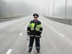 В Саранске сбили инспектора ДПС во время патрулирования