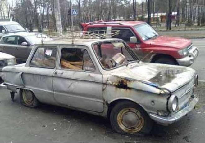 Брошенным транспортом займутся во всех районах Саранска