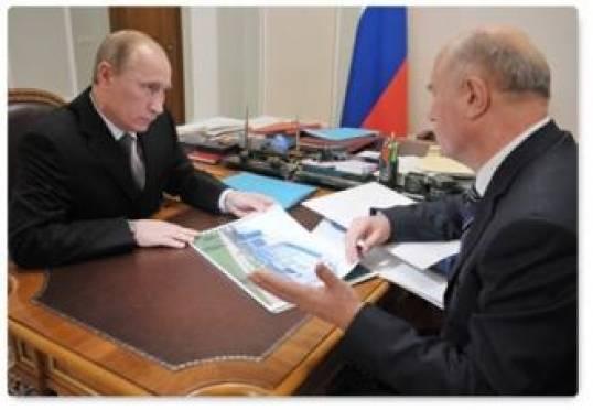 Владимир Путин похвалил Николая Меркушкина за достижения Мордовии