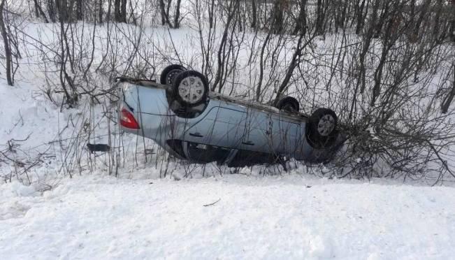 В Мордовии автоледи пострадала в ДТП с опрокидыванием