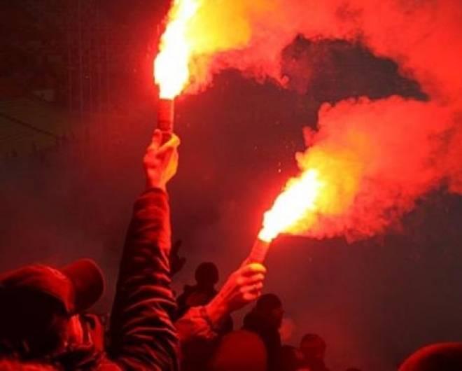 За файеры фанатов в Саранске «Крыльям Советов» придется раскошелиться