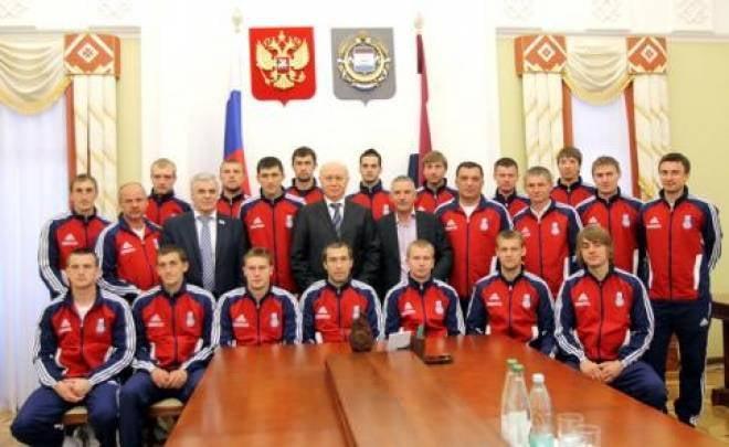 Николай Меркушкин встретился с футбольным клубом «Мордовия»
