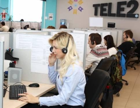 Контактный центр Tele2 в Саранске принял 15 млн звонков