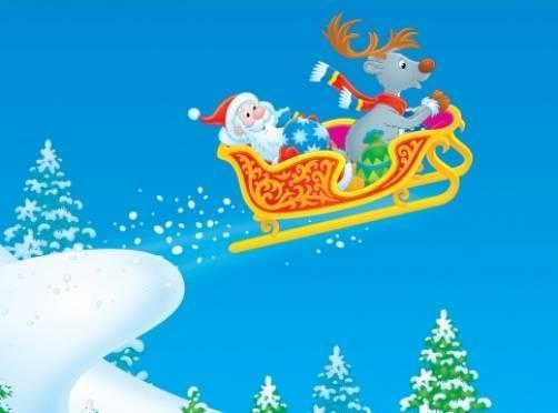 Мордовские спасатели вытащили «сани» Деда Мороза