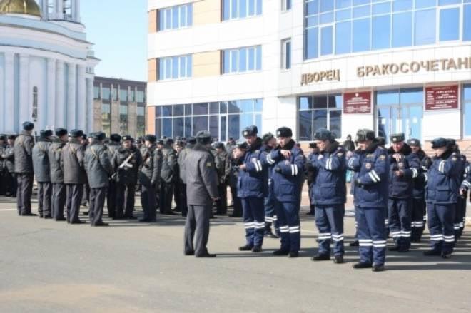 В Саранске пройдет гарнизонный развод полицейских нарядов