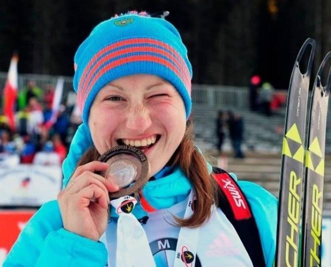 Мордовская биатлонистка — в тройке лидеров Кубка мира