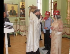 В Дубравлаге Мордовии заключённый обвенчался с любимой