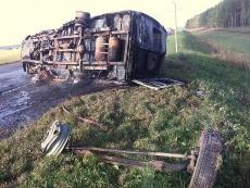 ДТП с участием пассажирской «ГАЗели» в Мордовии: пострадали пять человек