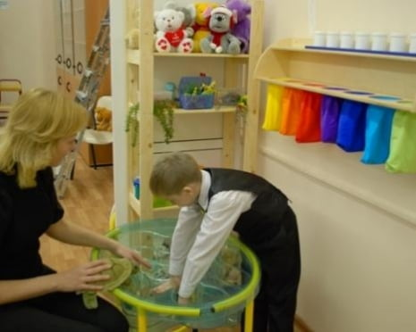 В школах Саранска появились сенсорные комнаты