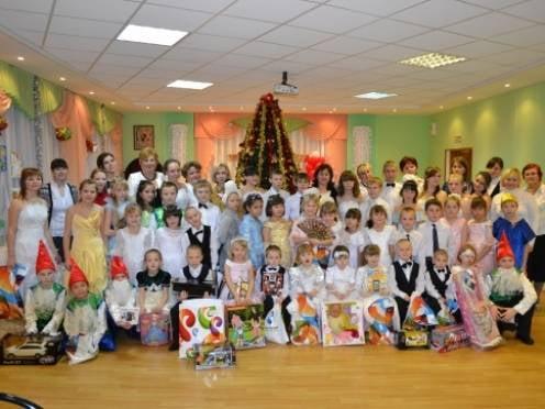 В канун Нового года «Ростелеком» поддержал  детские дома по всей России