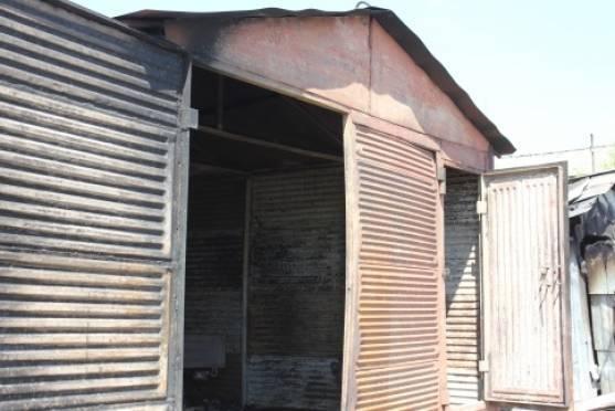 Житель Саранска сгорел в собственном гараже