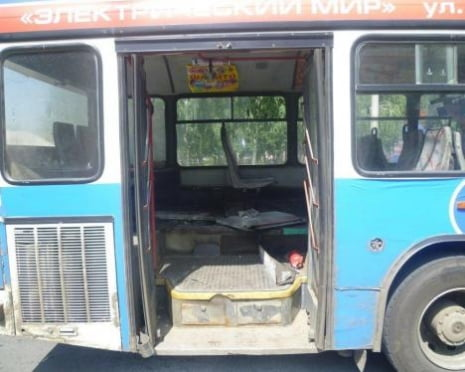 В Саранске едва не загорелся маршрутный автобус с пассажирами