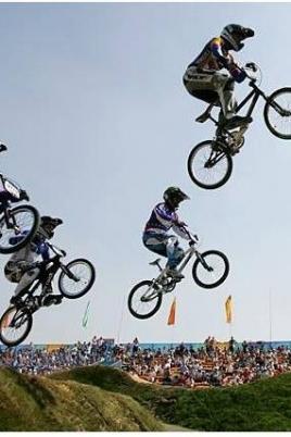 Открытые республиканские соревнования по велоспорту-BMX постер