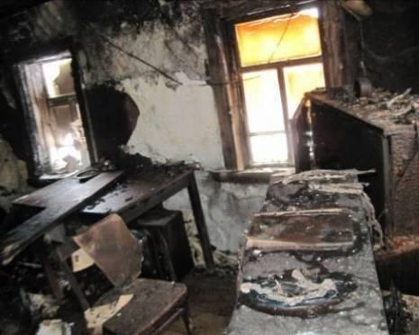 В Саранске сгорел восьмиквартирный дом