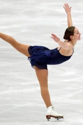 Мастер-класс по фигурному катанию на коньках постер