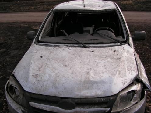 Житель Мордовии без спроса взял у друга машину и попал в ДТП