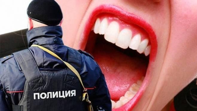 Подгулявшая дама в Рузаевке покусала полицейского