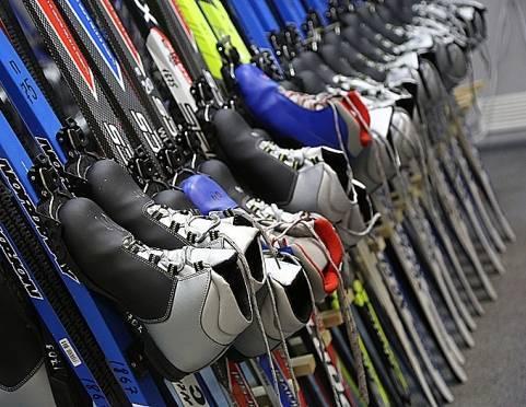 На Химмаше открыли первый пункт проката лыж