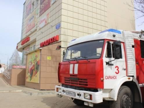 В Саранске курильщики чуть не устроили пожар в торговом центре