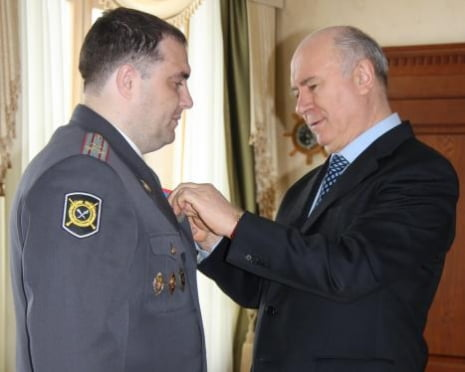 Вклад начальника полиции Мордовии Игоря Панкратова в борьбу с бандитизмом отмечен государственной наградой
