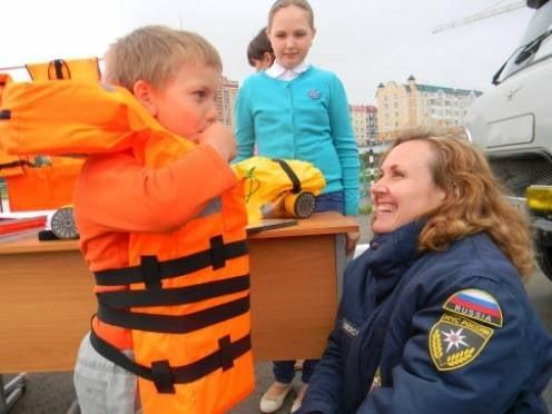 В Мордовии школьников научили адекватно вести себя во время ЧС