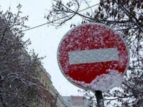 Вниманию водителей Саранска: 31 декабря ограничат движение транспорта!