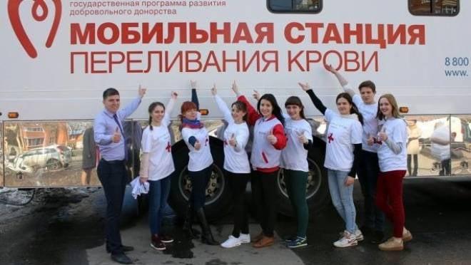 В Саранске студенты-медики поделятся кровью