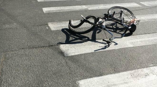 Автоледи на внедорожнике сбила в Рузаевке нерасторопного велосипедиста