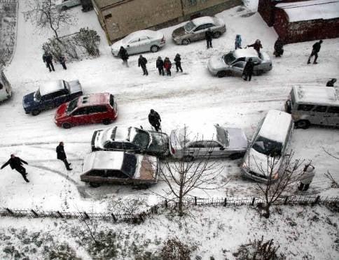 Первые заморозки: в Саранске гаишники готовятся к «дню жестянщика»