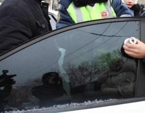 В Саранске десятки водителей лишились тонировки