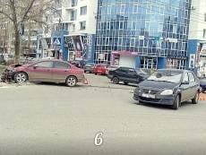 В Саранске в тройном ДТП пострадали два человека