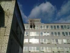 Сегодня горел Саранский приборостроительный завод