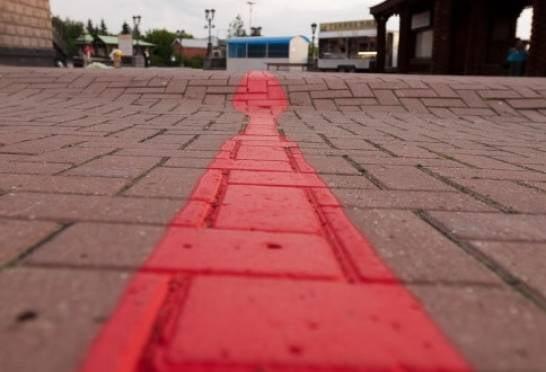 По Саранску проведут «красную линию»