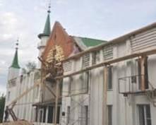 В Саранске началась реконструкция Центральной Соборной мечети