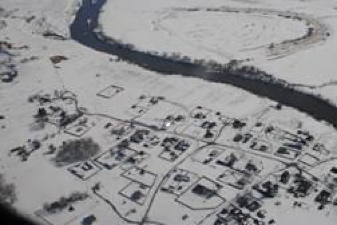 За развитием паводка в Мордовии наблюдают с борта самолета