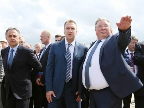 В Саранск с рабочей поездкой прибыли Шувалов и Мутко