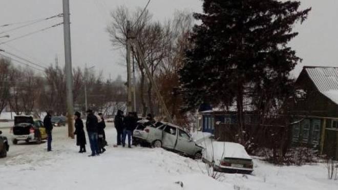 Водитель «ВАЗа», протаранивший в Саранске столб и «Мерседес», отказался от медосвидетельствования