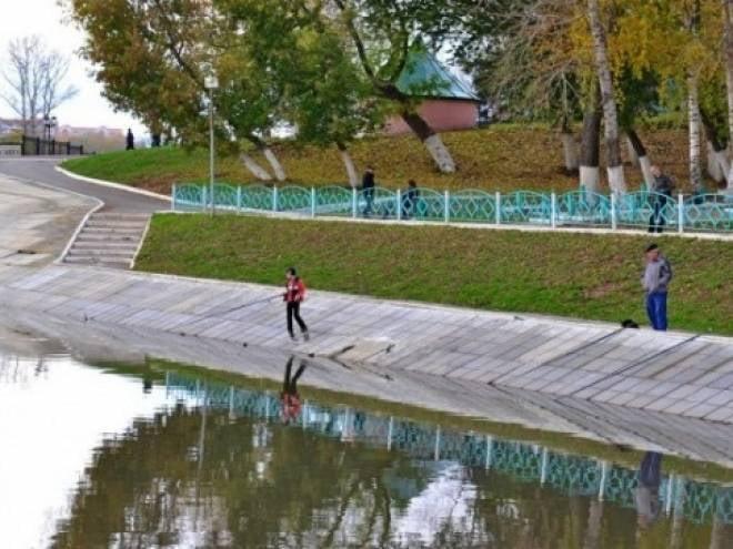 В реке в центре Саранска найдено тело мужчины