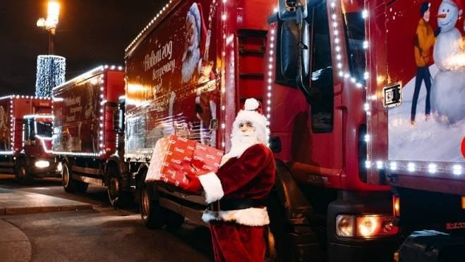 В Саранск едет Рождественский караван Coca-Cola