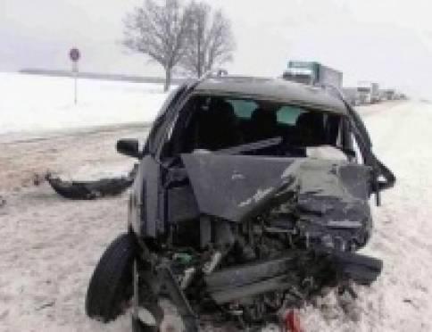 В Мордовии в ДТП на «встречке» один человек погиб, двое пострадали