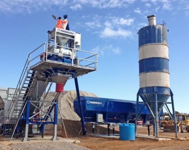 Бетонные заводы Nisbau можно приобрести на выгодных условиях