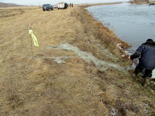 В Мордовии из реки Шапа достали тело рыбака