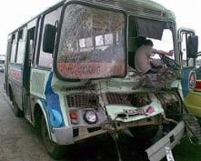 В Саранске столкнулись пассажирские автобусы: есть пострадавшая