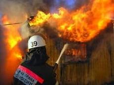 В Мордовии в огне погиб человек