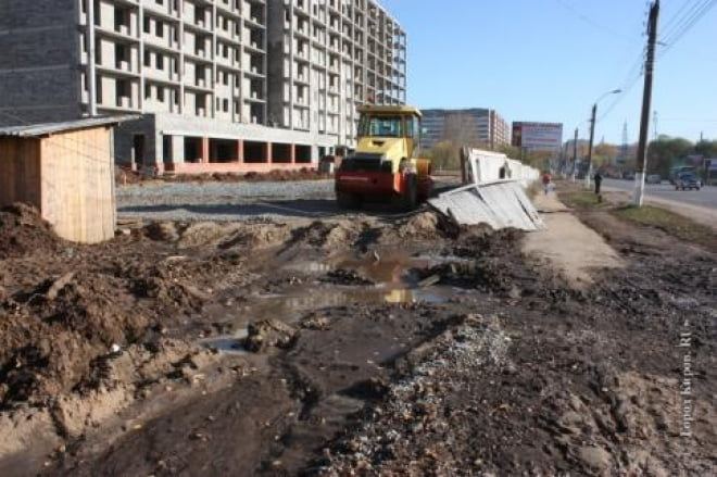 Крупнейшую строительную компанию Саранска наказали «за грязь»