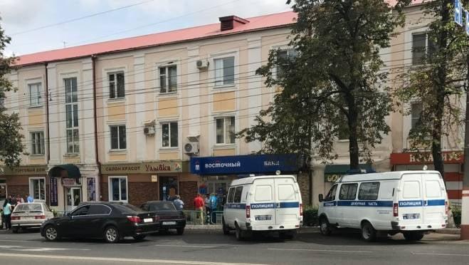 Под утро в центре Саранска обокрали банк «Восточный»