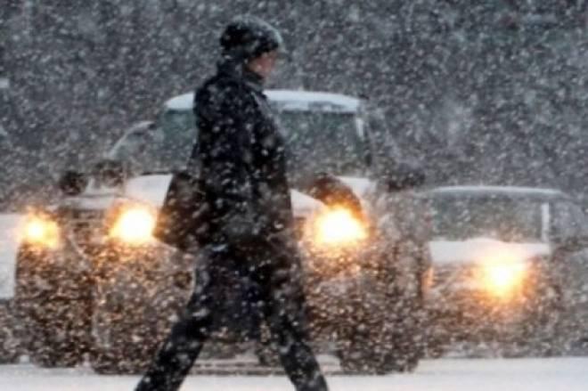 Снег и ветер в Саранске угрожают участникам движения