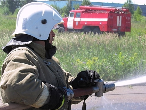 В Мордовии пожарные добровольцы борются с огнём почти каждый день