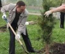 Мэр Саранска лично показал, как надо убирать город